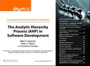 The Analytic Hierarchy Process (AHP) in Software Development (Digital Short Cut) ebook by Bijay K. Jayaswal,Peter C. Patton,Ernest H. Forman