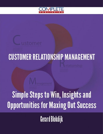 synopsis on customer relationship management Customer relationship manager job description from our extensive free database • knowledge and experience customer relationship management preferably in the.