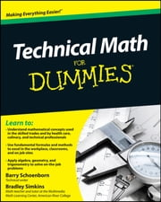 Technical Math For Dummies ebook by Kobo.Web.Store.Products.Fields.ContributorFieldViewModel