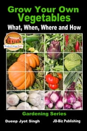 Grow Your Own Vegetables: What, When, Where and How