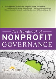 The Handbook of Nonprofit Governance ebook by BoardSource