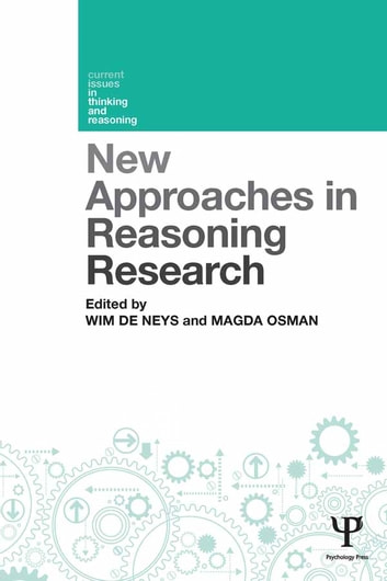 New Approaches in Reasoning Research ebook by