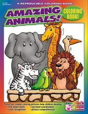 Amazing Animals! Coloring Book ebook by Sevaly, Karen