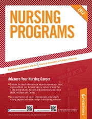 Nursing Programs 2012 ebook by Peterson's