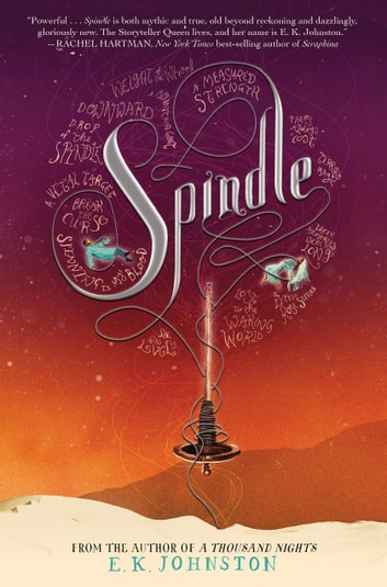 Spindle ebook by E. K. Johnston