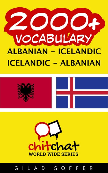 2000+ Vocabulary Albanian - Icelandic ebook by Gilad Soffer