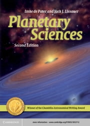 Planetary Sciences ebook by Imke de Pater,Jack J. Lissauer