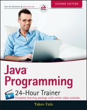 Java Programming 24-Hour Trainer ebook by Kobo.Web.Store.Products.Fields.ContributorFieldViewModel