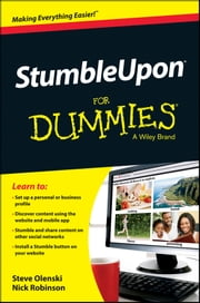 StumbleUpon For Dummies ebook by Steve Olenski,Nick Robinson