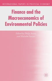 Finance and the Macroeconomics of Environmental Policies ebook by Philip Arestis,Malcolm Sawyer