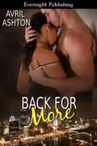 Back for More ebook by Avril Ashton