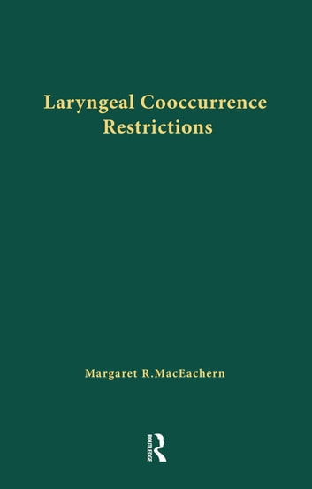 Dissertation feature in laryngeal laryngeal linguistics neutralization outstanding