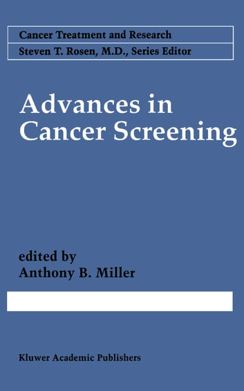Advances in Cancer Screening ebook by
