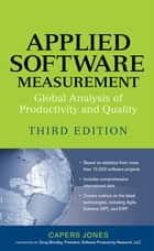 Applied Software Measurement ebook by Capers Jones