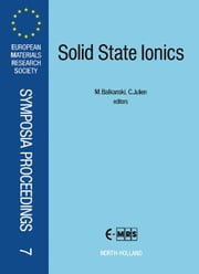 Solid State Ionics ebook by Julien, C.