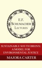 Sustainable South Bronx: A Model For Environmental Justice eBook par Majora Carter,Hildegarde Hannum