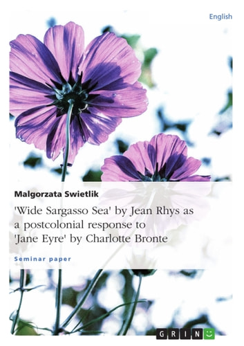 essay jane eyre wide sargasso sea Jane eyre and wide sargasso sea are both excellent pieces of written work that explore the theme of racial identity and social class in jane eyre, jane struggles with her identity as a governess for aristocratic children.