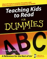 Teaching Kids to Read For Dummies ebook by Tracey Wood