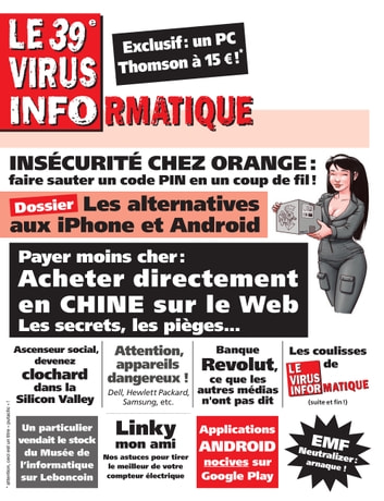 Le 39e Virus Informatique eBook by olivier aichelbaum,Patrick Gueulle,Bruno Bellamy,Filip Skoda