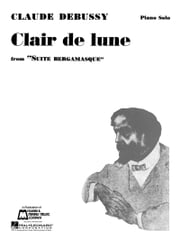 Claire de Lune Sheet Music - Piano Solo ebook by Claude Debussy