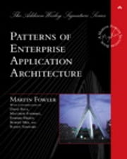 Patterns of Enterprise Application Architecture ebook by Martin Fowler
