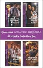 Harlequin Romantic Suspense January 2020 Box Set ebook by Marie Ferrarella, Tara Taylor Quinn, Rachel Lee,...