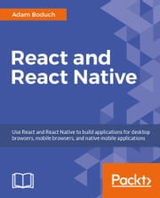 React and React Native ebook by Adam Boduch