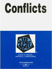 Conflicts in a Nutshell, 3d ebook by David Siegel, Patrick Borchers