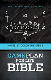 NIV, Game Plan for Life Bible, eBook - Notes by Joe Gibbs ebook by