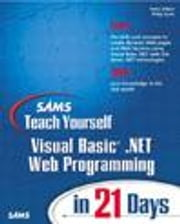 Sams Teach Yourself Visual Basic .NET Web Programming in 21 Days ebook by Aitken, Peter