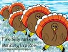 Five Silly Turkeys Standing in a Row ebook by David Blanchard