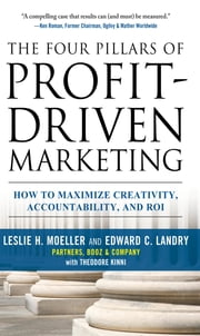 The Four Pillars of Profit-Driven Marketing: How to Maximize Creativity, Accountability, and ROI ebook by Leslie Moeller,Edward Landry