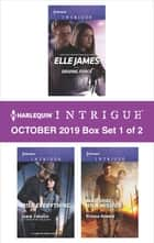 Harlequin Intrigue October 2019 - Box Set 1 of 2 ebook by Elle James, Janie Crouch, Ryshia Kennie