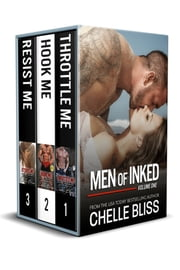 Men of Inked Books 1-3 ebook by Chelle Bliss