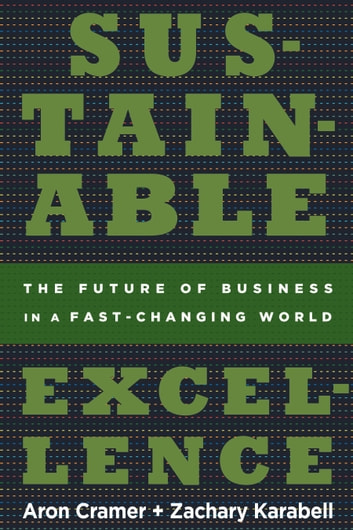 Sustainable Excellence - The Future of Business in a Fast-Changing World ebook by Zachary Karabell,Aron Cramer