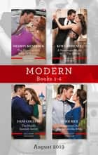 Modern Box Set 1-4/The Argentinian's Baby of Scandal/His Forbidden Pregnant Princess/The Maid's Spanish Secret/Contracted as His Cinderell ebook by Sharon Kendrick, Kim Lawrence, Heidi Rice,...