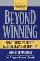 Beyond Winning ebook by Robert H. Mnookin