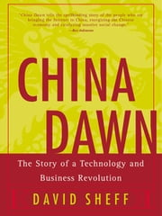 China Dawn ebook by David Sheff