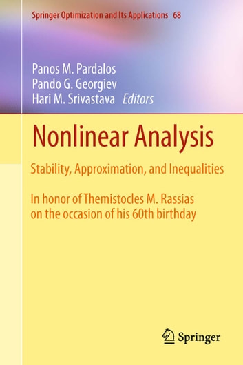 Nonlinear Analysis - Stability, Approximation, and Inequalities ebook by