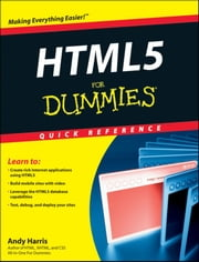 HTML5 For Dummies Quick Reference ebook by Andy Harris