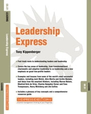 Leadership Express: Leading 08.01 ebook by Kippenberger, Tony