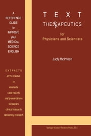 Text Therapeutics ebook by J. McIntosh