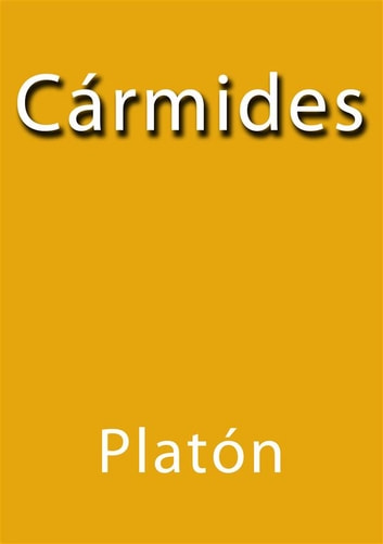 Cármides ebook by Platón