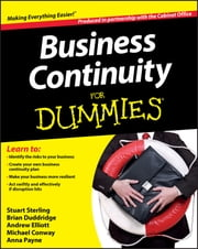 Business Continuity For Dummies ebook by The Cabinet Office