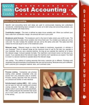 Cost Accounting (Speedy Study Guides) ebook by Speedy Publishing