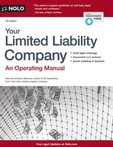 Your Limited Liability Company ebook by Anthony Mancuso