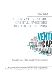DB Private Venture Capital Investors Directory – II - 2014