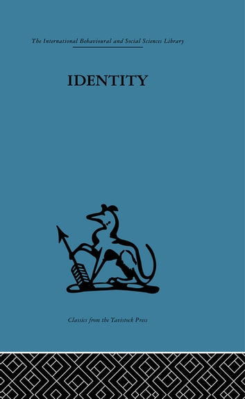 Identity - Mental health and value systems ebook by