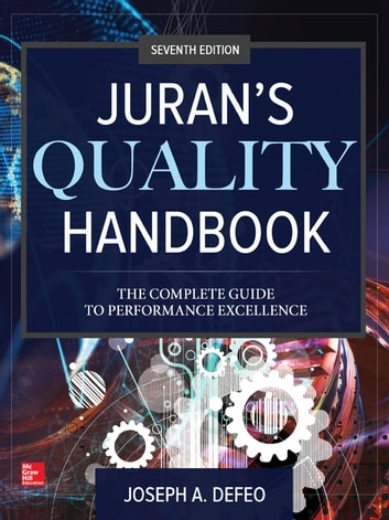 Jurans Quality Handbook: The Complete Guide to Performance Excellence, Seventh Edition