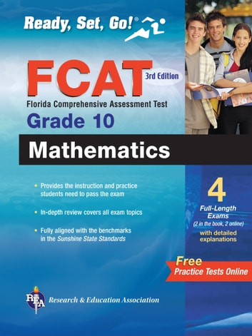 Florida FCAT Grade 10 Math with Online Practice Tests
